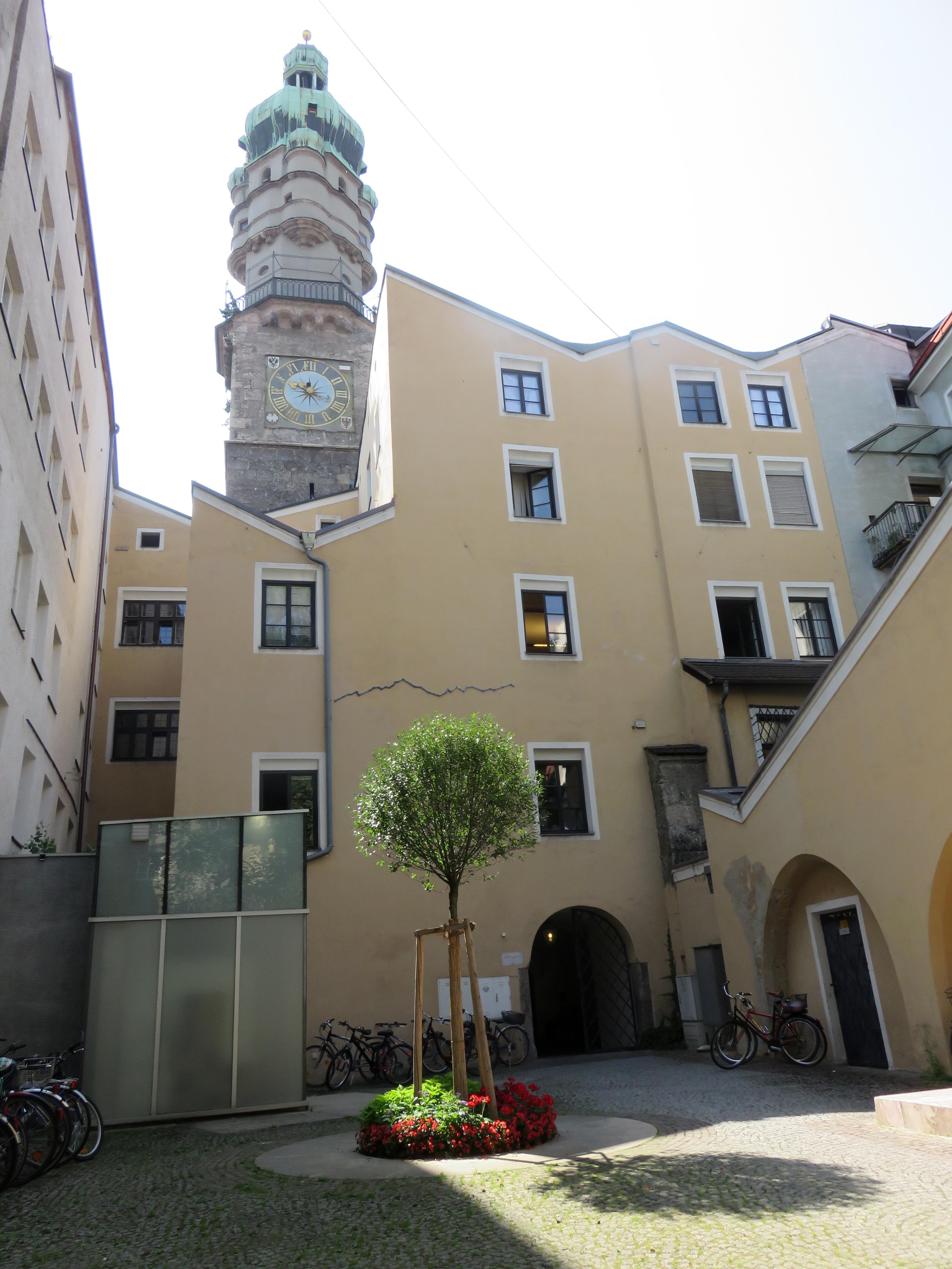 Locaux historiques dans le Stadtturm