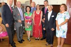 L'équipe et les invités d'honneur
